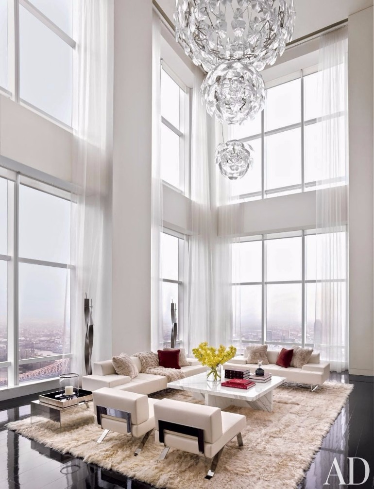 Luxury Living Room: Fall In Love With These Luxury White Living Rooms
