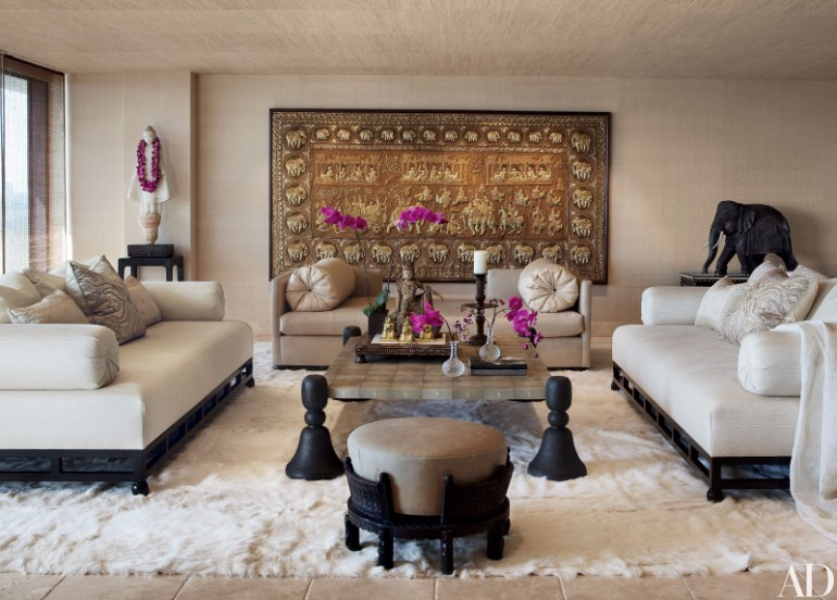 Living Room Fur Rugs to Elevate Your Interior Design 3