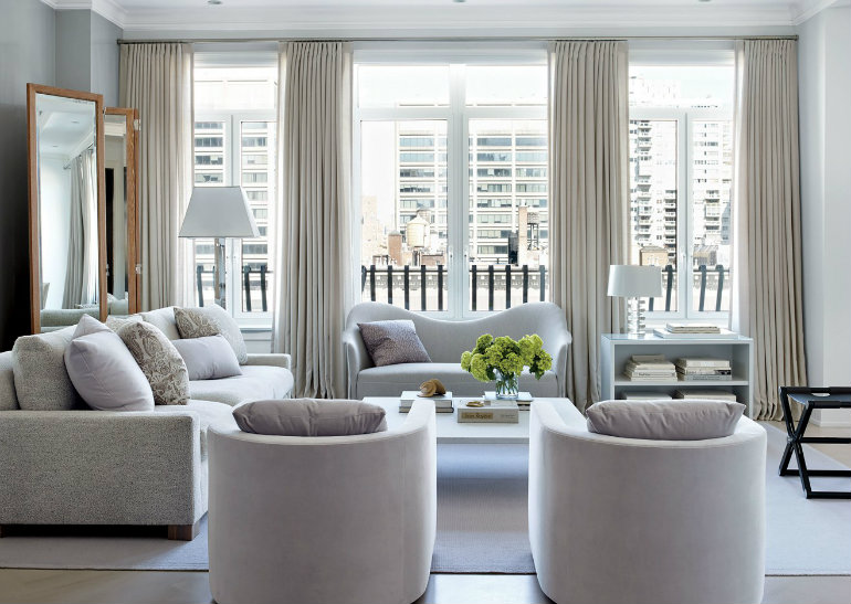 Living Room Inspiration: Luxury Apartment in New York City – Living ...