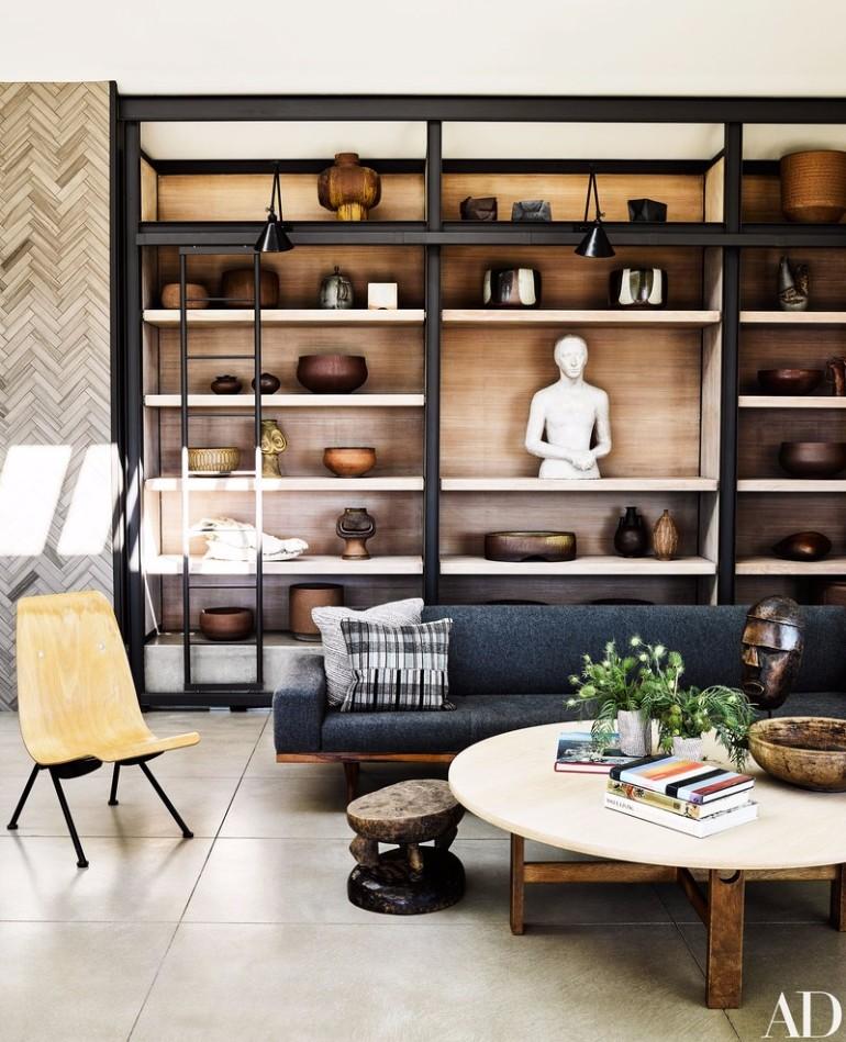 Ryan Murphy S Mid Century Modern Living Room In Laguna Beach Living Room Ideas