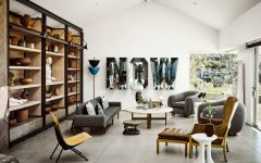 Ryan Murphy's Mid-Century Modern Living Room in Laguna Beach FEAT