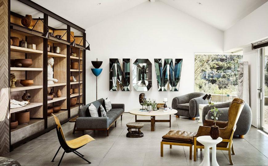 Mid Century Living Rooms - Magazine cover