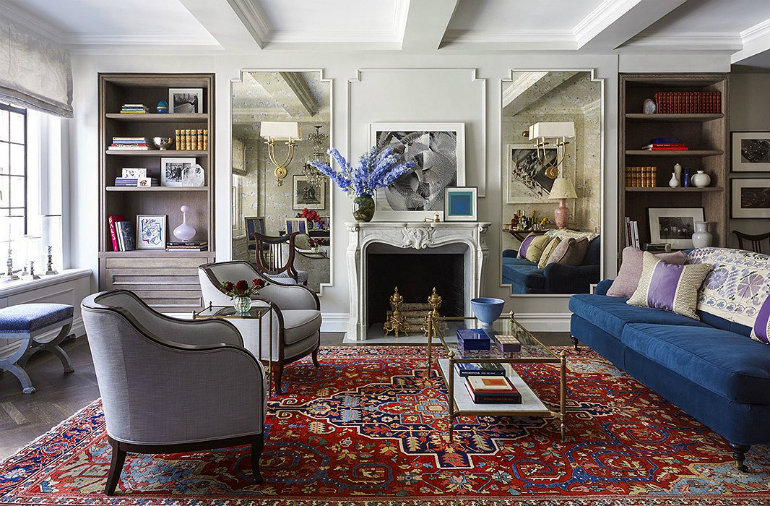 The Coolest Celebrity Living Rooms - Lonny