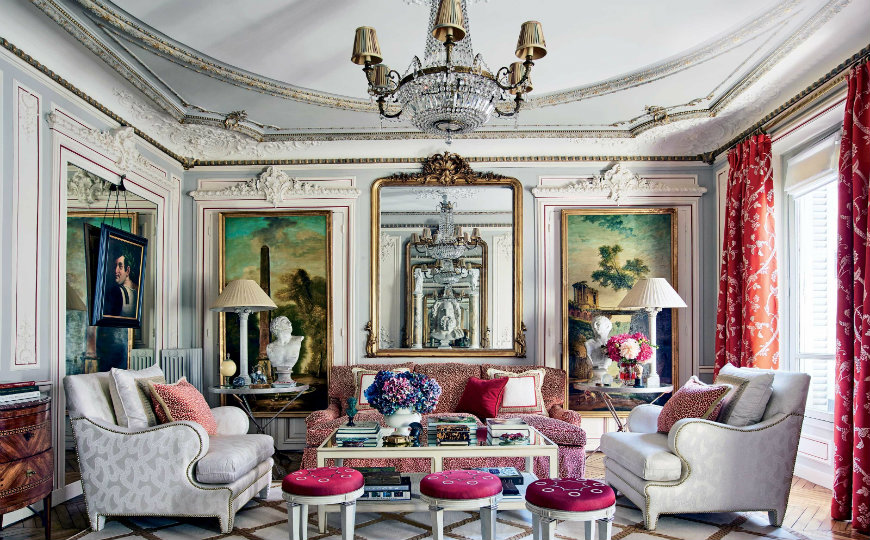 Why Parisian Living Rooms Are the Most Luxurious