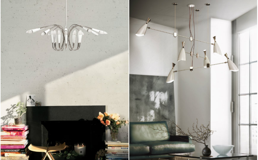 Bright Ideas for Light Fixtures in Your Living Room Decor