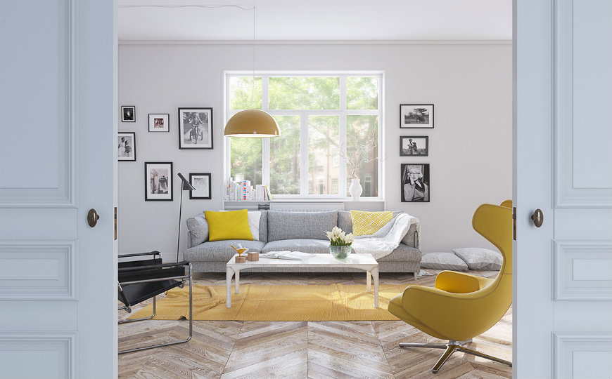 Living Room Color Trends That Will Take Over This Spring