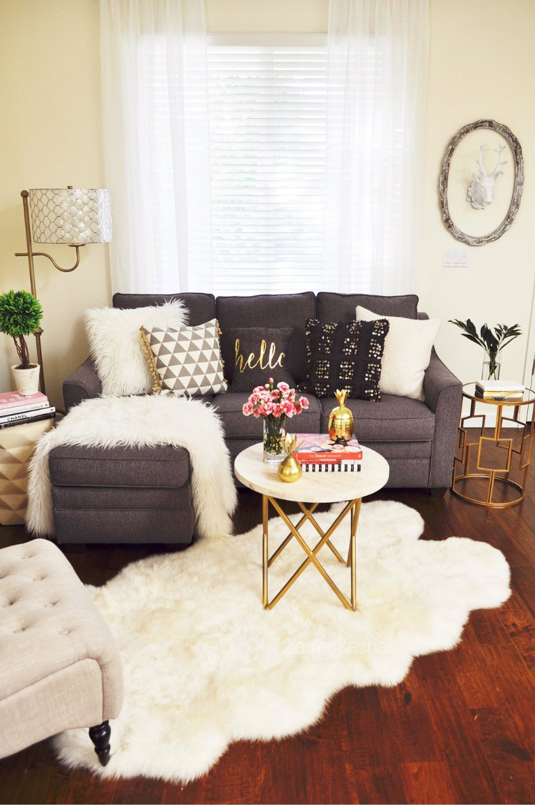 Apartment Living Room Design: How To Save Space In A Small Living Room
