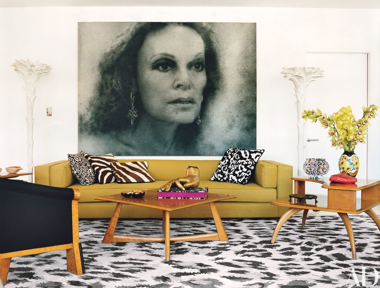 How to Use Animal Prints in Your Living Room Decor 1