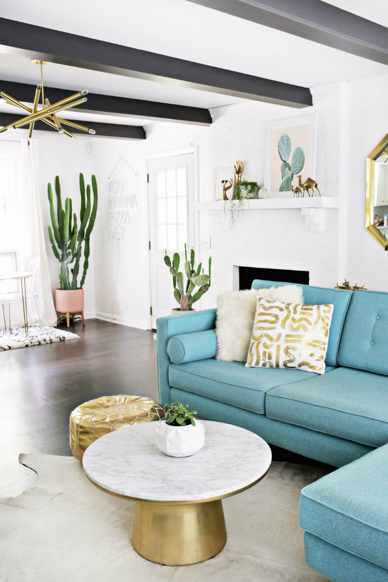 Living Room Color Trends That Will Take Over This Spring  1 color trends