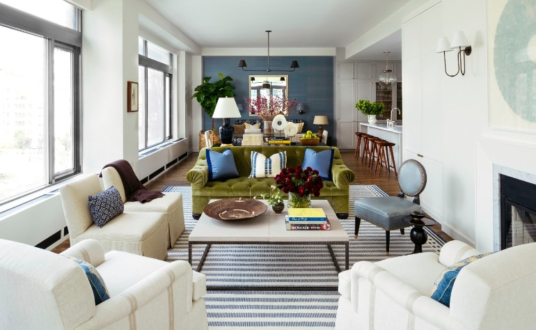 Living Room Inspiration Manhattan Apartment Filled with Pattern living room inspiration Living Room Inspiration: Manhattan Apartment Filled with Pattern Living Room Inspiration Manhattan Apartment Filled with Pattern 1