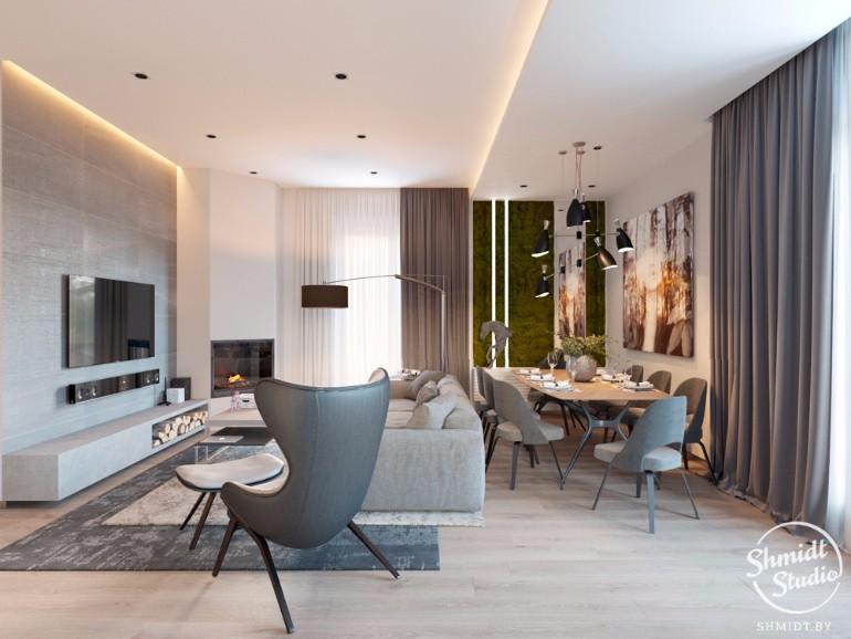 Stunning Open Plan Living Room with DelightFULL Lighting Design (4)