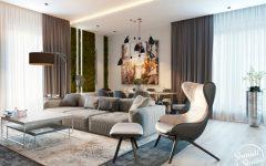 Stunning Open Plan Living Room with DelightFULL Lighting Design feat