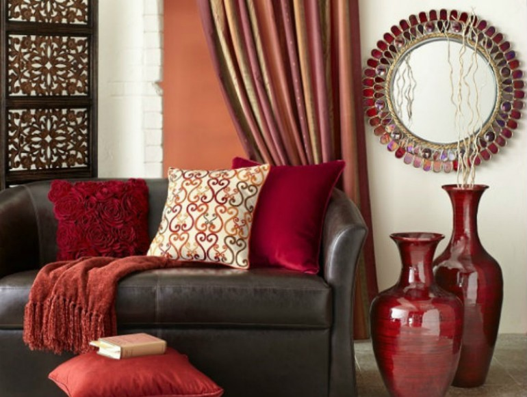 10 GORGEOUS RED ACCENT  living rooms 10 Gorgeous Red Accent Living Rooms 10 GORGEOUS RED ACCENT LIVING ROOMS11