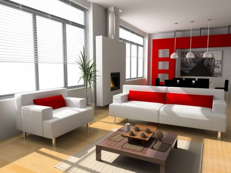 10 GORGEOUS RED ACCENT living rooms 10 Gorgeous Red Accent Living Rooms 10 GORGEOUS RED ACCENT LIVING ROOMS8