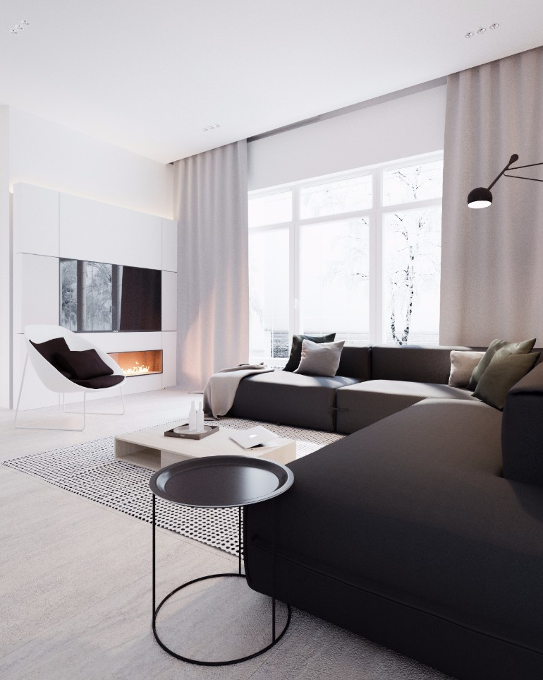 Luxurious Living Room With A Black and White Backdrop luxurious living room Luxurious Living Room With A Black and White Backdrop Luxurious Living Room With A Black and White Backdrop4 1
