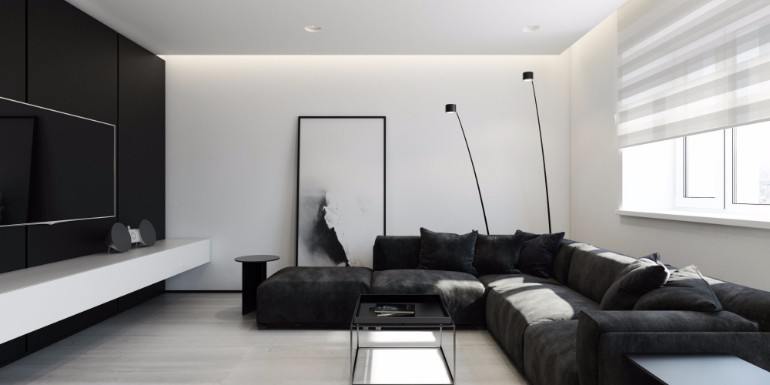 With A Black and White Backdrop luxurious living room Luxurious Living Room With A Black and White Backdrop Luxurious Living Room With A Black and White Backdrop9