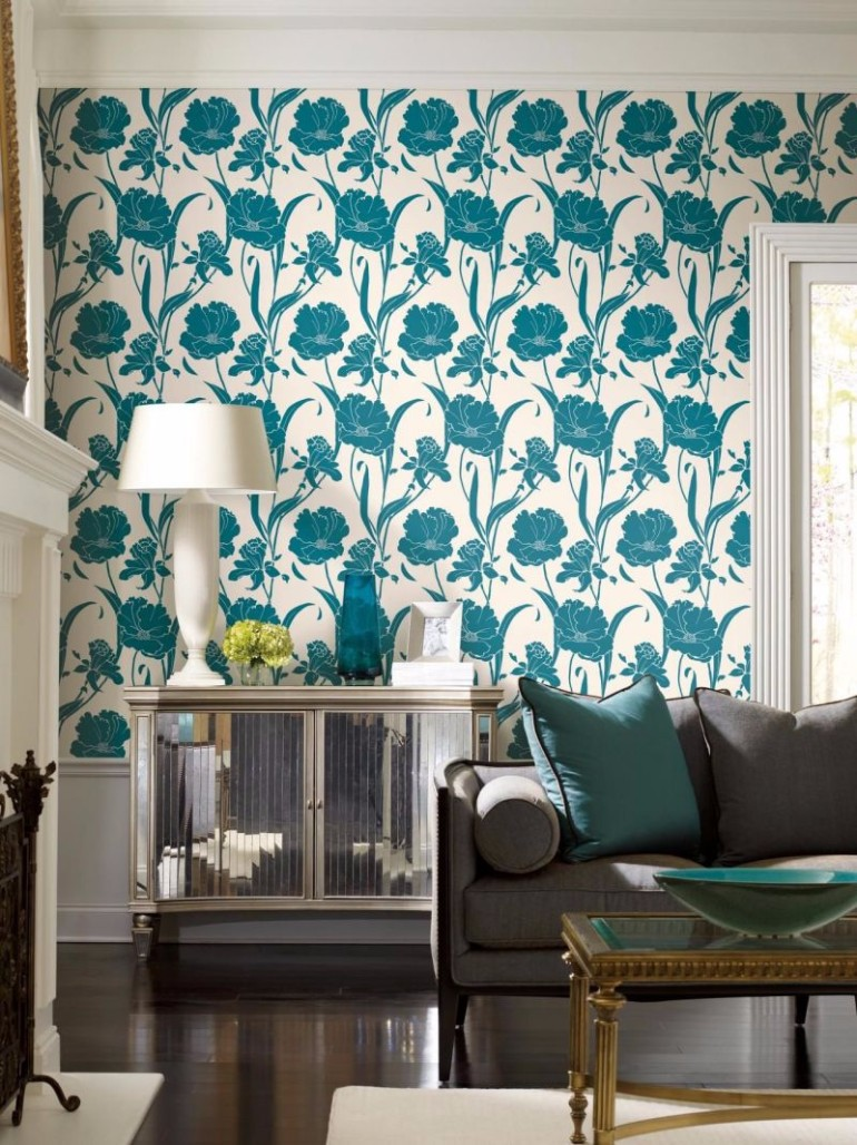 Attractive Wallpaper Design Ideas For Your Living Room Wallpaper Design Wallpaper  Design Ideas For Your Living Room Part 20