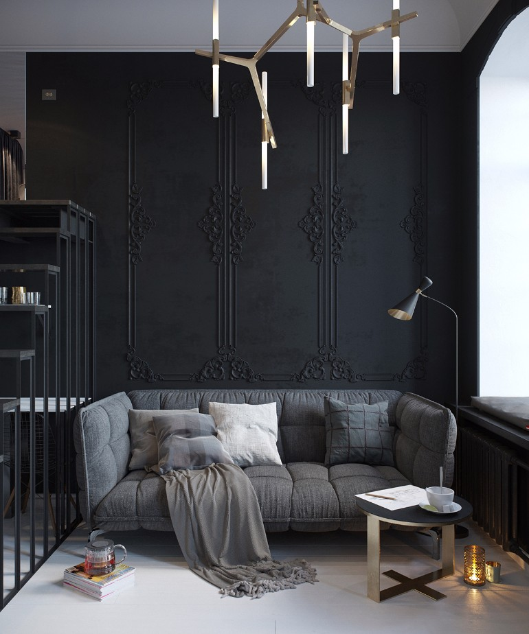 Black Ideas To Enhance Your Home Decor living room Black Living Room Ideas To Enhance Your Home Decor Black Living Room Ideas To Enhance Your Home Decor3