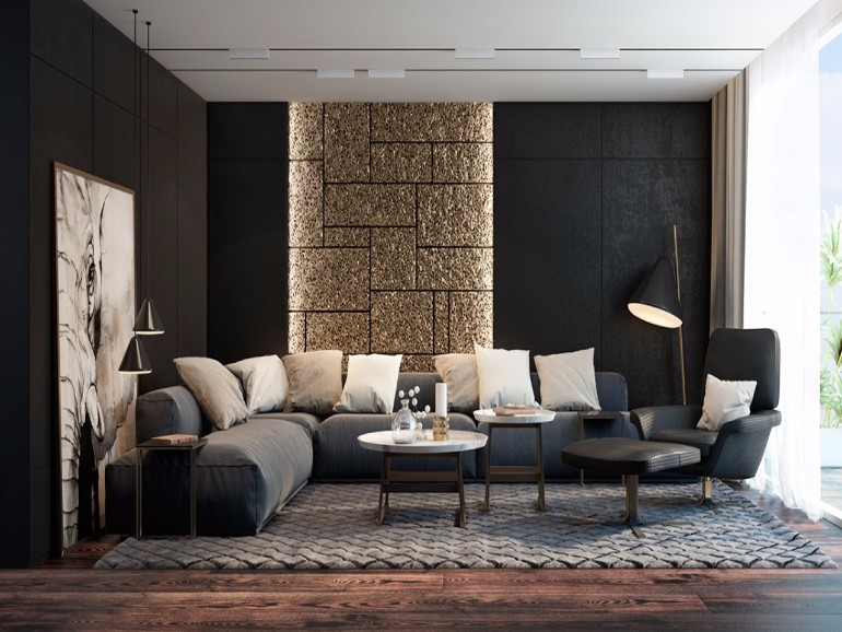 Black Ideas To Enhance Your Home Decor living room Black Living Room Ideas To Enhance Your Home Decor Black Living Room Ideas To Enhance Your Home Decor4