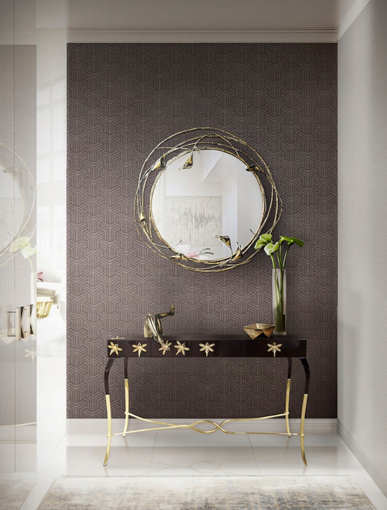 The Most Beautiful Wall Mirror Designs for Your Living Room wall mirror designs The Most Beautiful Wall Mirror Designs For Your Living Room The Most Beautiful Wall Mirror Designs for Your Living Room10