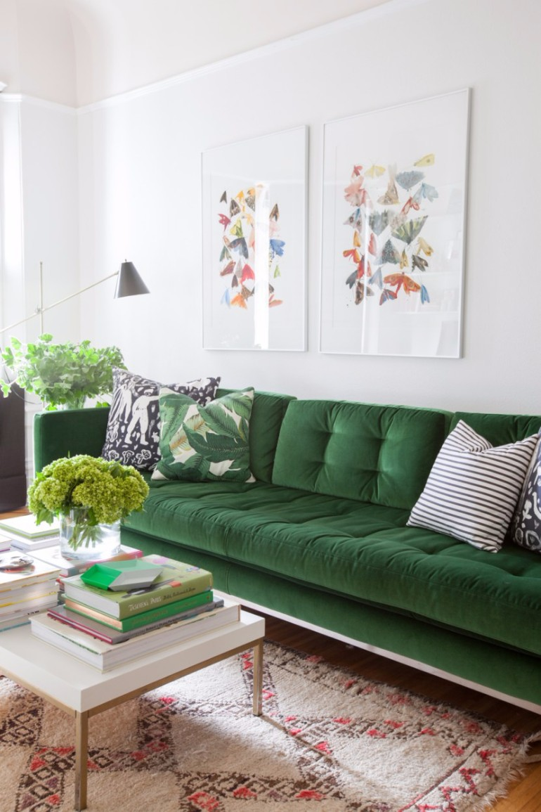 5 Ways To Use a Colorful Sofa In Your Living Room colorful sofa 5 Ways To Use a Colorful Sofa In Your Living Room Ways To Use a Colorful Sofa In Your Living Room2
