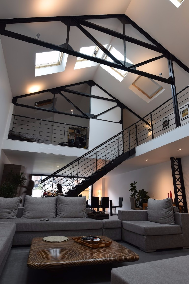 10 Loft-Style Living Room Design Ideas – Living Room Ideas