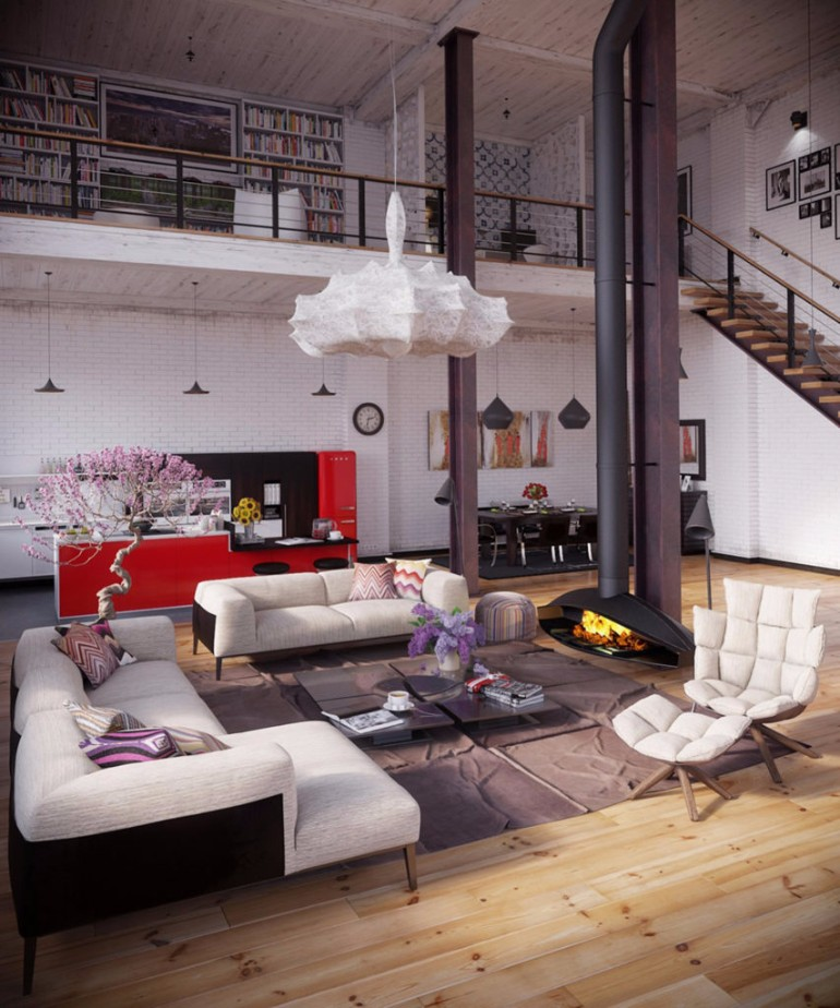 10 Loft-Style Living Room Design Ideas living room 10 Loft-Style Living Room Design Ideas 10 Loft Style Living Room Design Ideas18