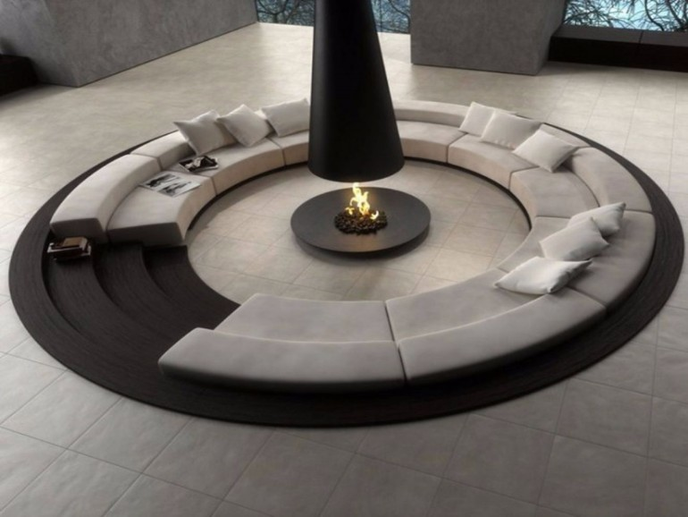 8 Stunning Futuristic Living Rooms