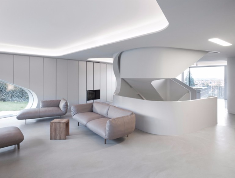 8 stunning futuristic living rooms – living room ideas
