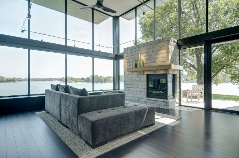 A Lake House living room A Lake House Living Room A Lake House Living Room12