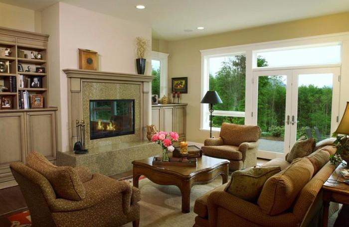 Cozy Designer Family Living Rooms