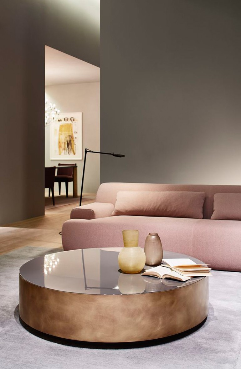 Glorious ideas about light pink living rooms living room for Elle decor best dining rooms