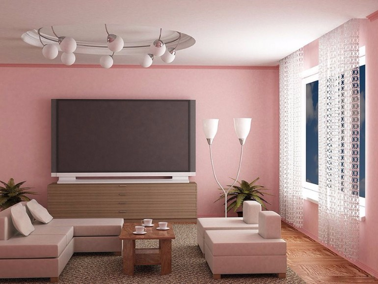 Glorious Ideas About Light Pink Living Rooms – Living Room Ideas