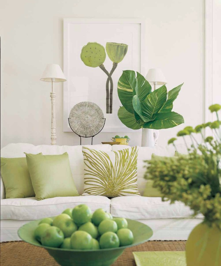 Living Room Ideas With Fresh Plants Living Room Ideas