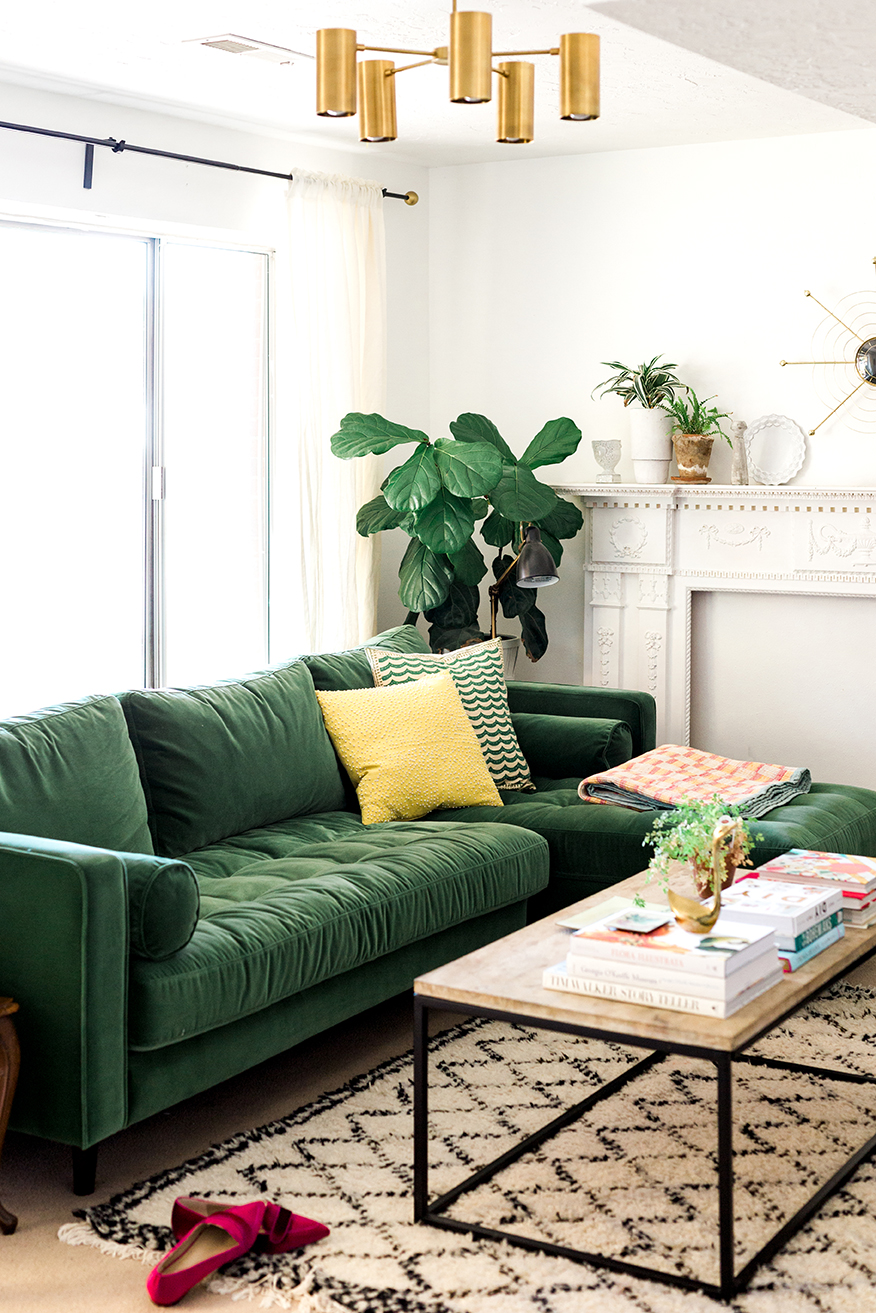 8 stunning velvet sofas for your living room living room ideas