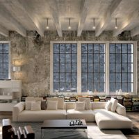Beautiful Industrial Living Rooms