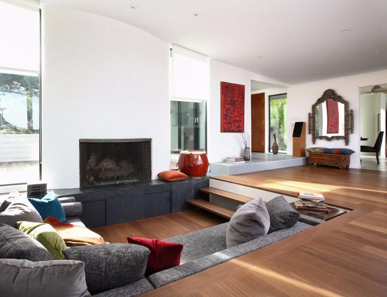 10 Brilliant Sunken Living Room Designs