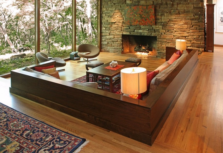 10 Brilliant Sunken Living Room Designs7 Sunken Living Room 10 Brilliant Sunken Living Room Designs 10 Brilliant Sunken Living Room Designs6