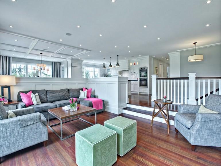 10 Brilliant Sunken Living Room Designs7