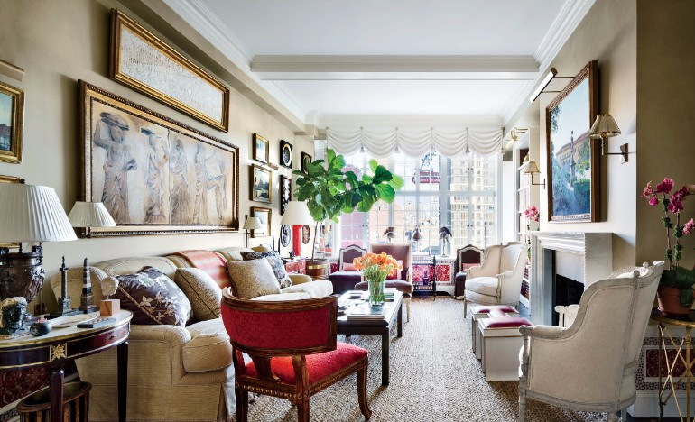Best Inspiring Living Rooms From The Home of Top Designers 2