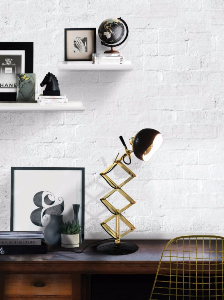 Home Design Ideas: How To Use Brass in your Living Room – Living ...