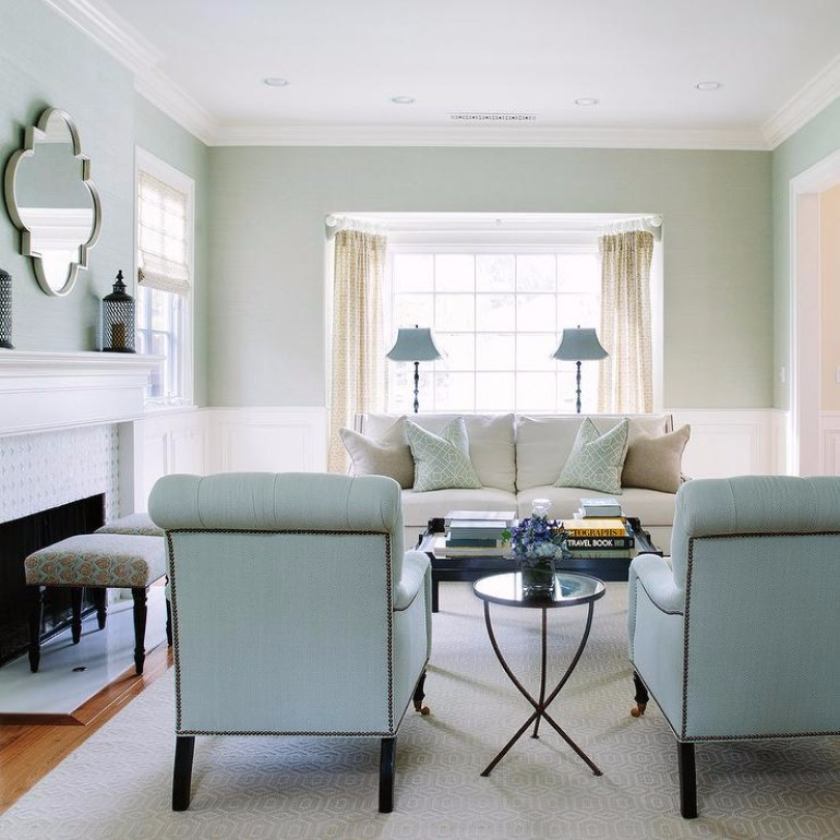 How To Make a Light Blue-Green  Living Room How To Make a Light Blue-Green Living Room How To Make a Light Blue Green Living Room 6 2
