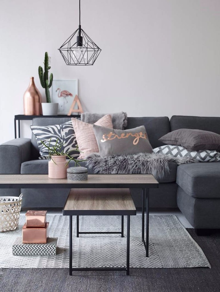 What's Hot On Pinterest: Living Room Ideas Apartment