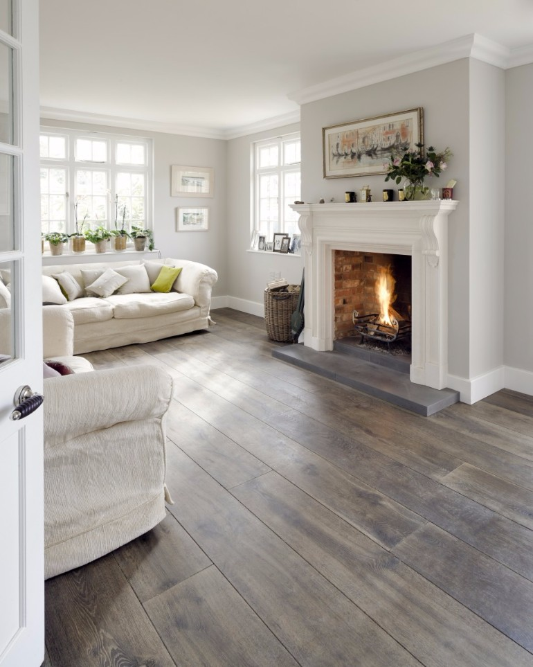 What's Hot On Pinterest: Living Room Paint Color Ideas