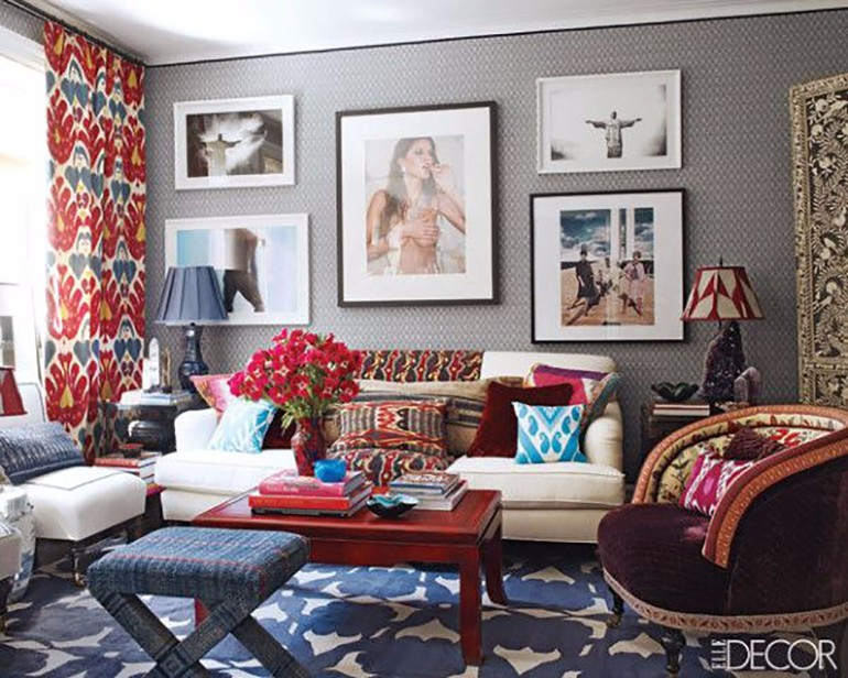 living room Rugs as a Main Home Decor for your Living Room On the Coffee Table Elle Decor     The Height of Style 1