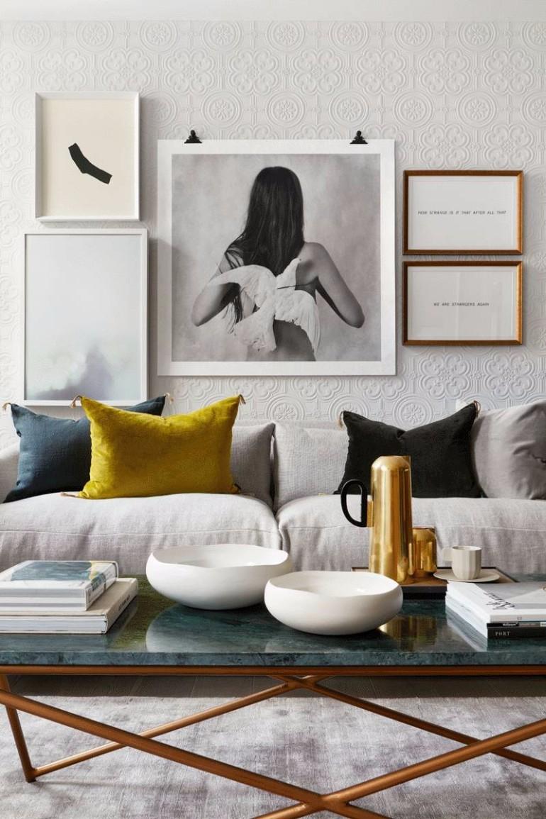 What's Hot On Pinterest: Stylish Living Room