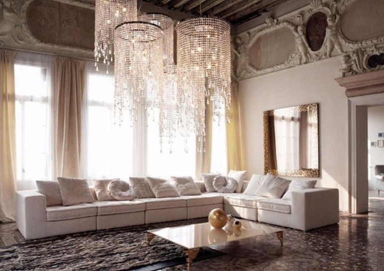 Amazing Lighting Ideas living room Amazing Living Room Lighting Ideas chandelier 2