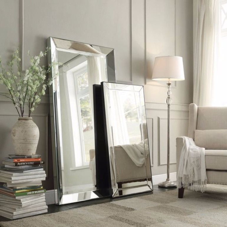 living room Modern Interior Design Mirrors For Your Living Room fc09757e8400c7cd7873989c7d956dfe bedroom mirrors floor mirrors