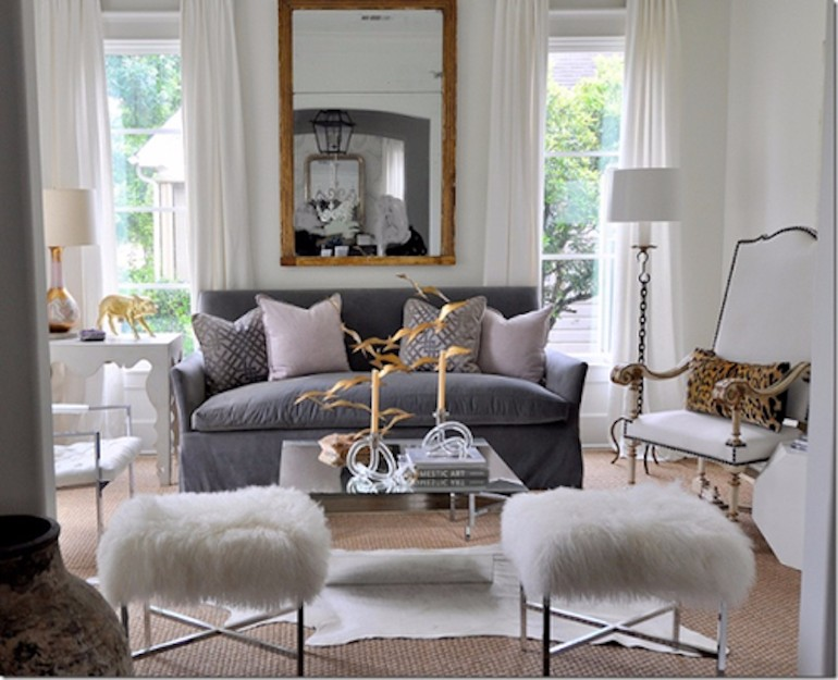 living room Modern Interior Design Mirrors For Your Living Room large