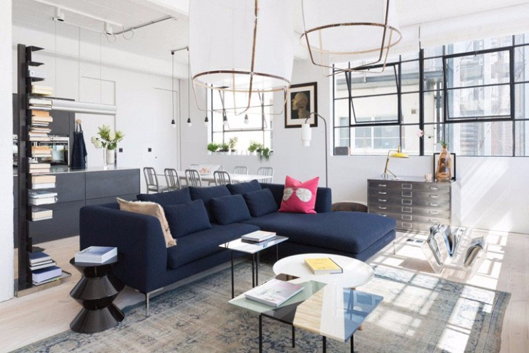 Create a Modern Blue Living Room Without Secrets Its So Easy